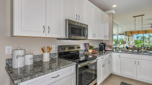 Kitchen condo Esplanade Sarasota Florida Homes Sale